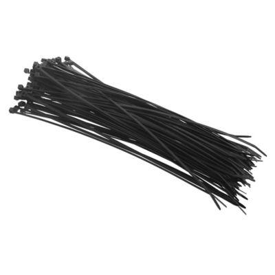 Pack de 100 precintos 300 x 3,6 mm negro