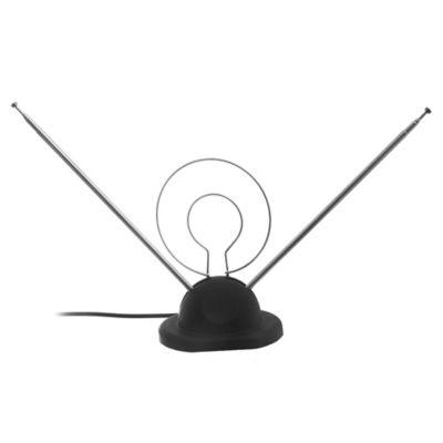 Antena con Base Redonda Coaxial y Ficha