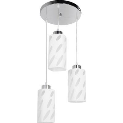 Lámpara colgante tubo Básic 3 luces E27