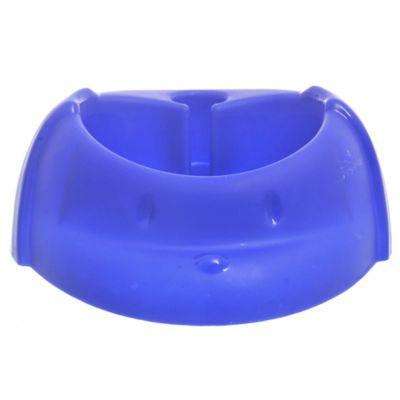 Bebedero automático para perro azul