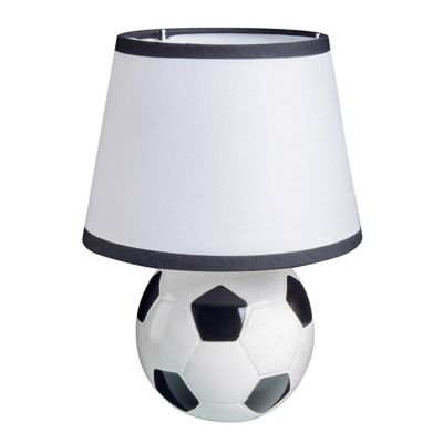 Lámpara de mesa Futbol blanca E27