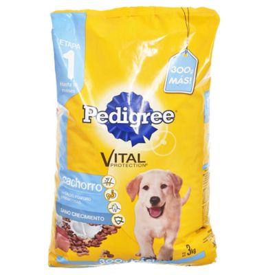 Alimento para perro cachorro 2,7 kg carne