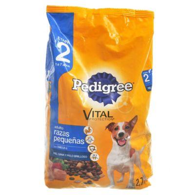 Alimento para perro adulto 2,7 kg carne y vegetales