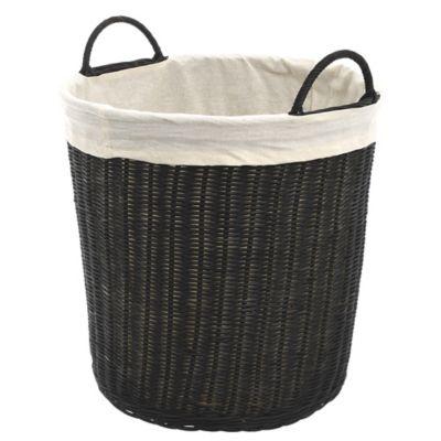 Canasto organizador de ratán Laundry L 35 x 35 x 40 cm