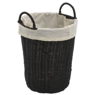 Canasto organizador de ratán Laundry 25 x 29 x 34 cm