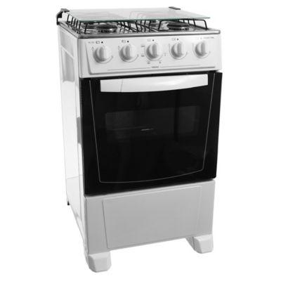 Cocina a gas FE4466 49 cm 4 hornallas blanca