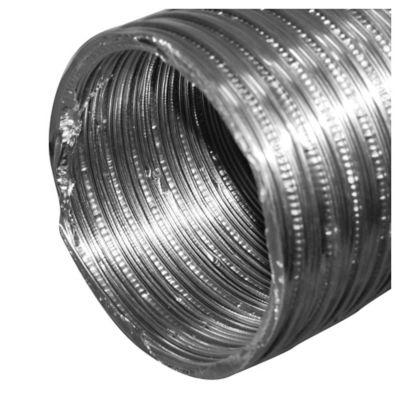 Ducto flexible de aluminio 7,6 x 243 cm