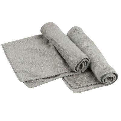 Pack de 2 paños de microfibra para metales 35 x 35 cm