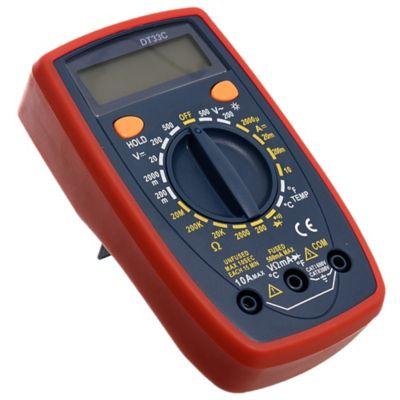 Tester digital DT-33C AC 500 v  10 a