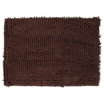 Alfombra de baño 43 x 61 cm chocolate