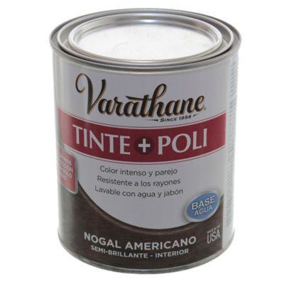 Tinta + poliuretano nogal americano 0,946 l