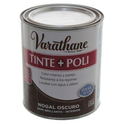 Tinta + poliuretano nogal oscuro 0,946 l