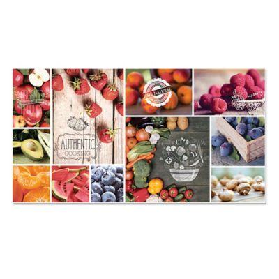 Cerámica 30 x 60 cm Frutas esmaltada decorada 1.08 m2