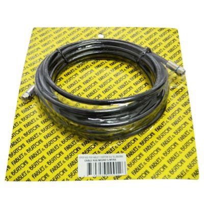 Set de cable coaxial de 5 m con punteros