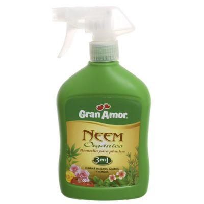 Insecticida spray para plantas orgánico 500 cm3