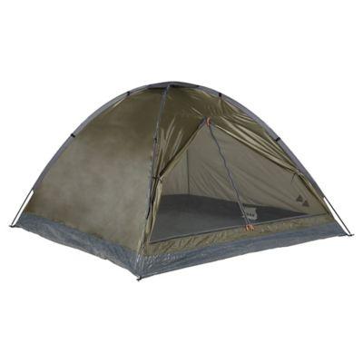 Carpa iglu Dome basic 4 personas verde