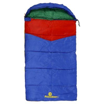 Sobre de dormir para niños azul 140 x 75 cm