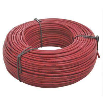 Cable unipolar de 6 mm rojo de 100 m