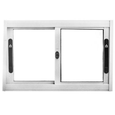 Ventana de aluminio Anodizado Prem gris 60 x 40 cm