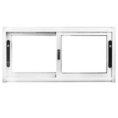 Ventana de aluminio Anodizado S20 gris 80 x 40 cm