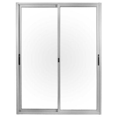 Ventanal de aluminio Anodizado S25 gris 150 x 200 cm