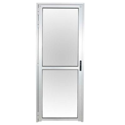 Puerta toda de vidrio con divisor derecha 80 x 200 cm