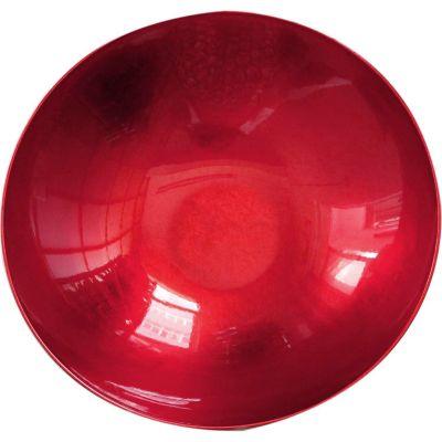Bowl de plástico rojo 35 x 35 x 9.7 cm