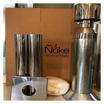 Kit de acero inoxidable 430 para 1 planta 150 mm