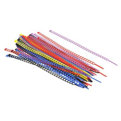 Pack de 50 amarra cables multicolor