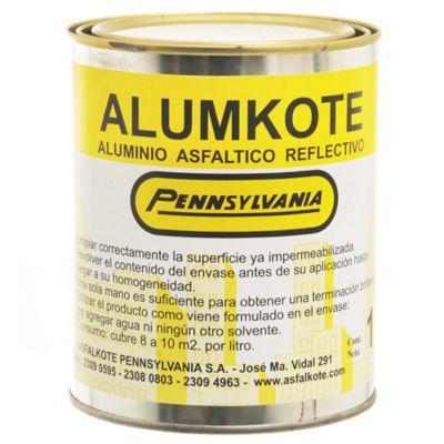 Aluminio asfáltico reflectivo Alumkote 1 l