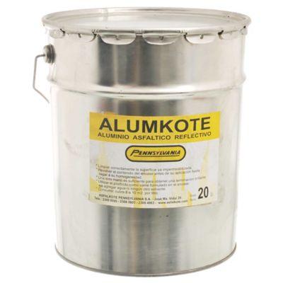 Aluminio asfáltico reflectivo Alumkote 20 l