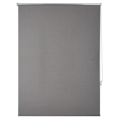 Cortina Roller Black Out Text 150 x 250 cm gris