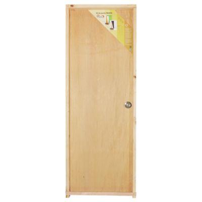 Puerta de interior Praktika izquierda de 75 x 204 x 12 cm