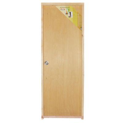 Puerta de interior Praktika derecha de 75 x 204 x 12 cm