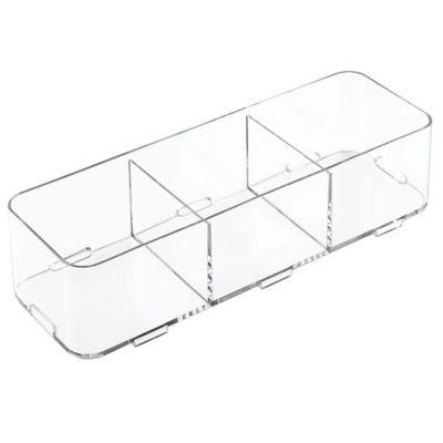 Organizador de cajón de acrílico 4 x 12 x 3 cm