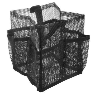 Organizador de tela negro 15 x 18 cm
