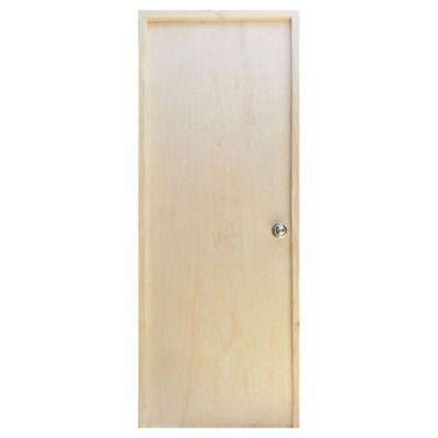 Puerta de interior Estándar izquierda de 75 x 204 x 6,5 cm