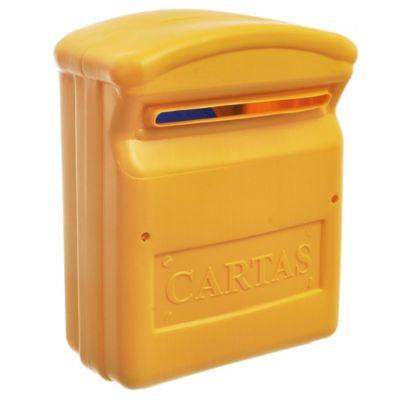 Buzón chico amarillo