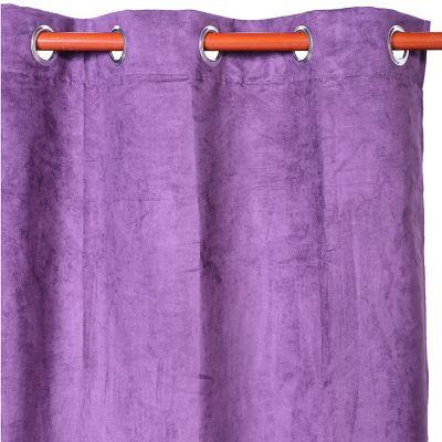 Cortina de tela Black Out 140 x 215 cm violeta