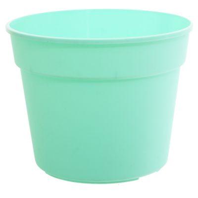 Maceta común de 21 cm verde pastel