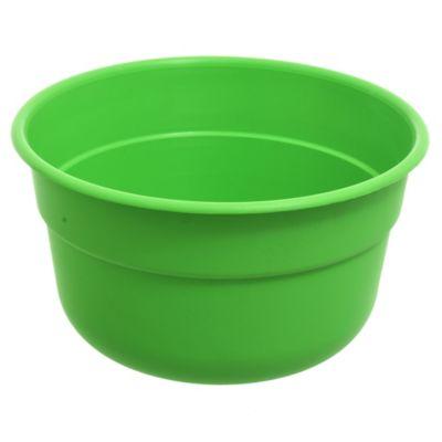 Maceta Bols de 18 cm con plato verde claro