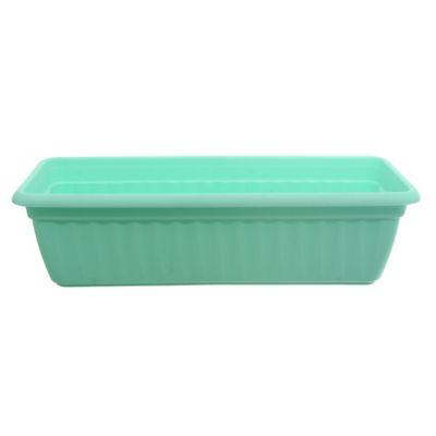 Maceta Denise de 45 cm verde pastel