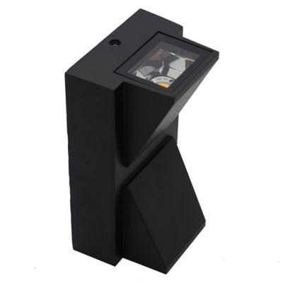 Aplique exterior rectangular 2 LED cob 2x3 w