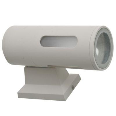 Aplique exterior spot tubular 1 luz blanco E27