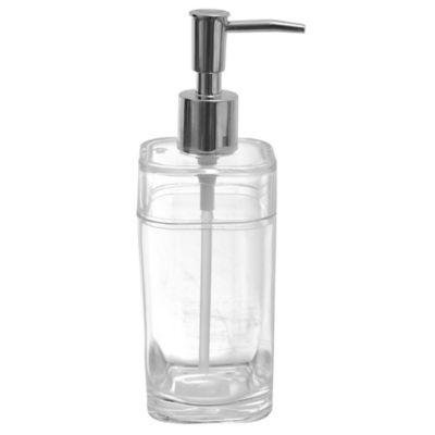 Dispensador de plástico Splash cristal