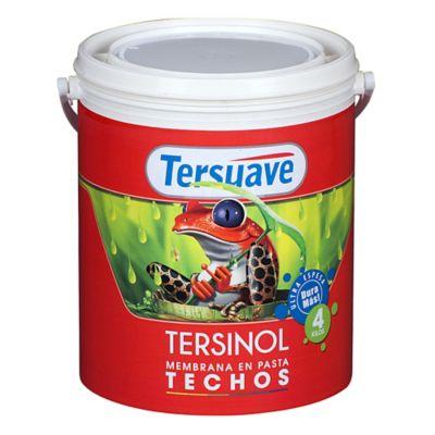 Membrana en pasta para techos Tersinol blanco 4 L
