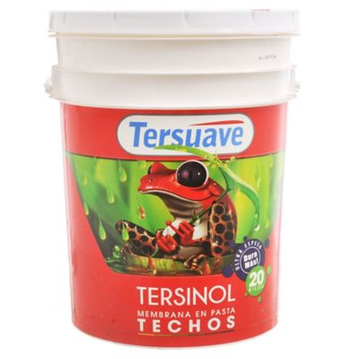Membrana en pasta para techos Tersinol blanco 20 L