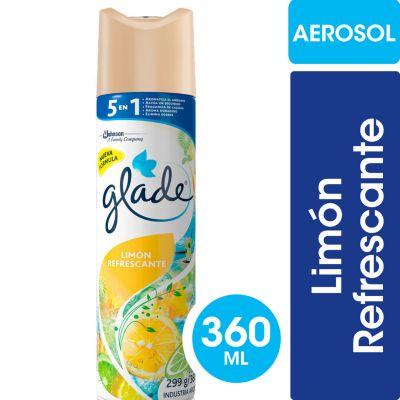 Desodorante de ambiente en aerosol limón