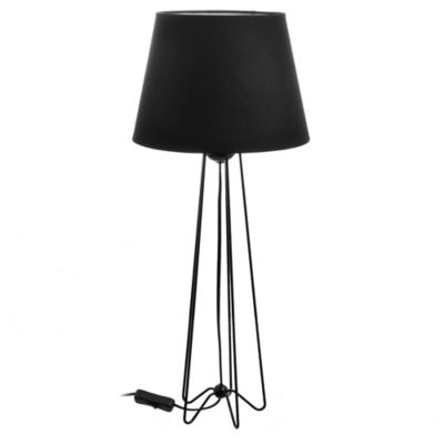 Lámpara de mesa Berry negro 1 luz