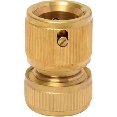 Conector rapido 1/2 sin stop bronce